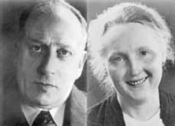 Firmengründer Richard Kaphingst und Ehefrau Charlotte