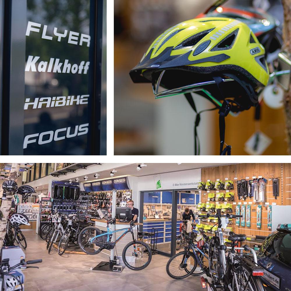 Hochwertige E-Bikes und das passende Zubehör in unsere Filiale in Marburg/Wehrda